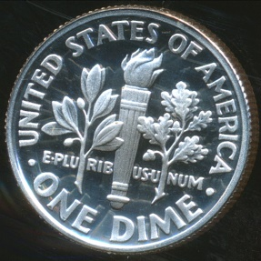World Coins - United States, 1998-S Dime, Roosevelt (Silver) - Proof
