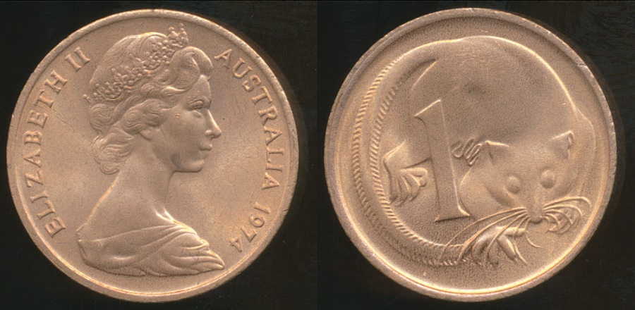 1974 australian 10 cent coin value