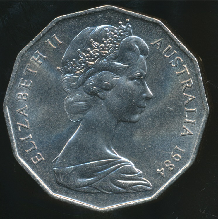 What is the value of a 1984 British One Pound coin ...