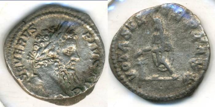Ancient Coins - SEPTIMIUS SEVERUS, AR Denarius, AD 193-211, Rome mint, (20mm, 3.49 gm) - RIC 308