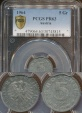 World Coins - Austria, Republic, 1964 5 Groschen - PCGS PR63