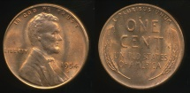 World Coins - United States, 1954-s One Cent, Lincoln Wheat - Uncirculated