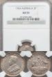 World Coins - Australia, 1924 Threepence, George V (Silver) - NGC AU55