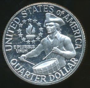 World Coins - United States, 1976-S Quarter Dollar, Washington (Drummer Boy)(Silver) - Proof