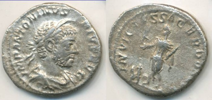 Ancient Coins - ELAGABALUS, AR Denarius, AD 218-222, Rome mint, (19mm, 2.77 g) - RIC IVii 146b