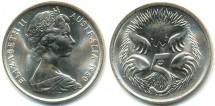 World Coins - 1980 - Australia, QEII, 5c - Unc (Ex. mint roll)