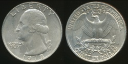 World Coins - United States, 1978 Quarter, 1/4 Dollar, Washington - Uncirculated