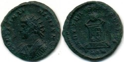 Ancient Coins - CONSTANTINE II, AE-3, AD 317-340, London mint, (18mm, 2.44 g), Struck AD 321-324 - RIC VII 284