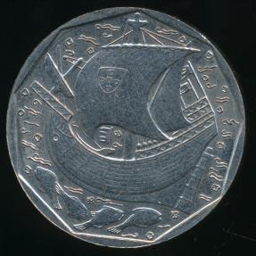 World Coins - Portugal, Republic, 1988 50 Escudos - Uncirculated