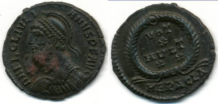 Ancient Coins - JULIAN II (The Apostate), AE-3, AD 360-363, Heraclea