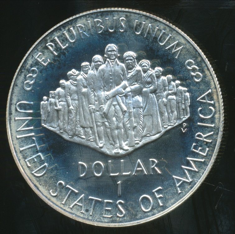 United States 1987 S One Dollar Constitution