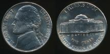 World Coins - United States, 1994-P 5 Cents, Jefferson Nickel - Uncirculated