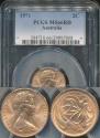 World Coins - Australia, 1971 2 Cents, Elizabeth II - PCGS MS66RD