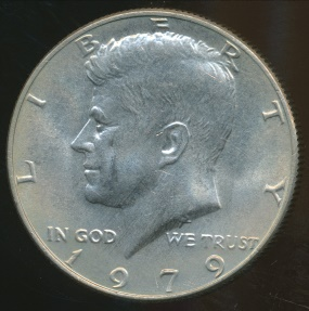 World Coins - United States, 1979 Half Dollar, Kennedy - Uncirculated
