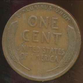 World Coins - United States, 1924-S One Cent, Lincoln Wheat - Fine