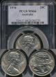 World Coins - Australia, 1978 Twenty Cents, 20c, Elizabeth II - PCGS MS66
