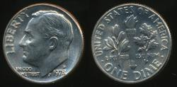 World Coins - United States, 1978-D Dime, Roosevelt - Uncirculated