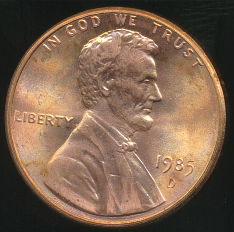 1985 Lincoln Cent /</> UNCIRCULATED Red High Grade !