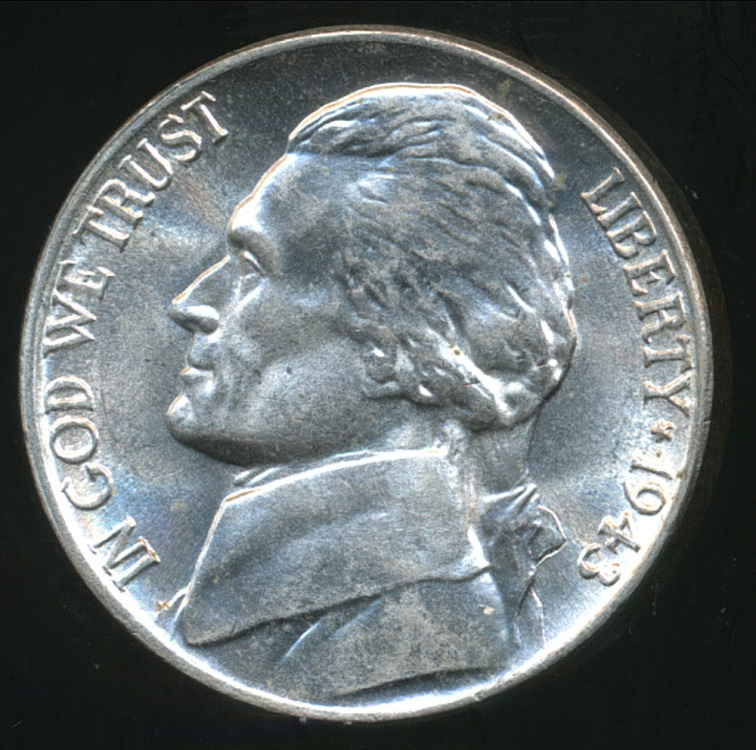Jefferson (TX) United States  city photos gallery : World Coins United States, 1943 P 5 Cents, Jefferson Nickel Silver ...