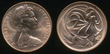 World Coins - Australia, 1982 Two Cents, 2c, Elizabeth II - Uncirculated
