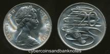 World Coins - AUSTRALIA - 1981 20c, Elizabeth II - Unc (Ex Mint Roll)