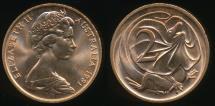 World Coins - Australia, 1981 Two Cents, 2c, Elizabeth II - Uncirculated