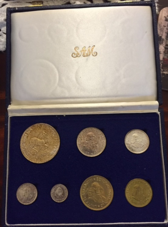 south african mint coin sets