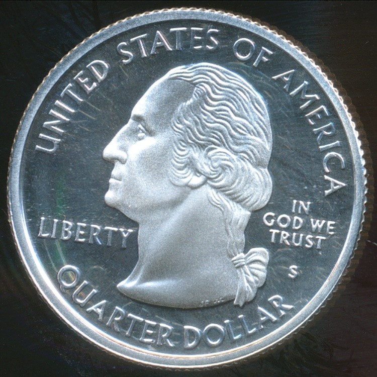 United States 2003 S Quarter Dollar Washington State