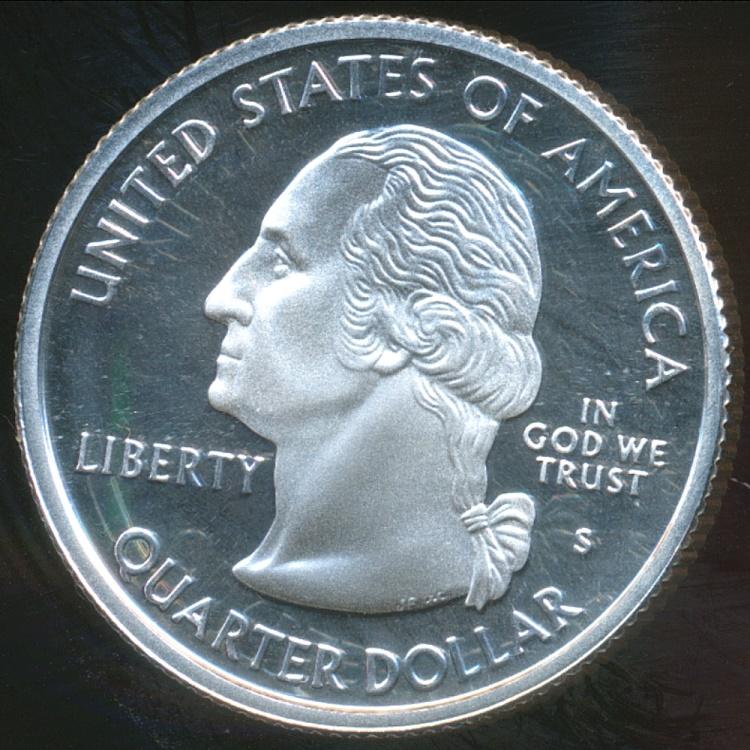 United States 2003 S Quarter Dollar Washington State