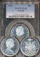 World Coins - Canada, Confederation, 1966 50 Cents, Elizabeth II (Silver) - PCGS PL66
