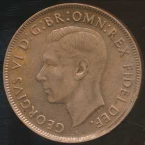 World Coins - Australia, 1951(m) One Penny, George VI - Uncirculated