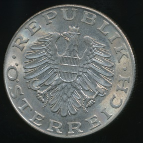 World Coins - Austria, Republic, 1983 10 Schilling - almost Uncirculated