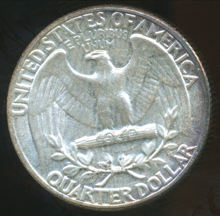 United States 1963 Quarter Dollar Washington Silver
