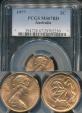 World Coins - Australia, 1977 2 Cents, Elizabeth II - PCGS MS67RD