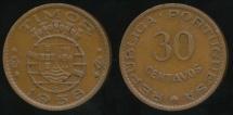 Timor, Portuguese Colony, 1958 30 Centavos - Very Fine
