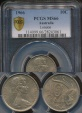 World Coins - Australia, 1966(L) Ten Cents, 10c, Elizabeth II - PCGS MS66