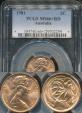 World Coins - Australia, 1981 2 Cents, Elizabeth II - PCGS MS66+RD