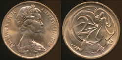 World Coins - Australia, 1979 Canberra 2 Cent, Elizabeth II - Uncirculated