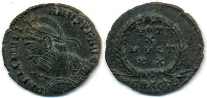 Ancient Coins - JULIAN II, AE-3, AD 360-363, Heraclea mint, Struck 361-363 AD, (19mm, 2.49 gm) - RIC 106