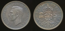 World Coins - Great Britain, Kingdom, 1950 Florin, 2/-, George VI - Proof