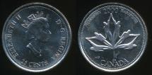 World Coins - Canada, Confederation, 2000 25 Cents, Elizabeth II (Harmony) - Uncirculated