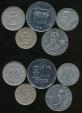 World Coins - Ecuador, Republic, Group of 5 Coins (1991 10 Sucre, 2000 10 Centavos, 1976 10 Centavos, 2000 5 Centavos, 1946 5 Centavos)