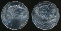 World Coins - Australia, 2017 Fifty Cents, 50c, Elizabeth II (Pride and Passion) - Uncirculated