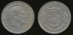 World Coins - Denmark, Kingdom, Frederik IX, 1961 5 Kroner - Very Fine