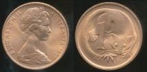 World Coins - Australia, 1979 1 Cent, Elizabeth II - Uncirculated