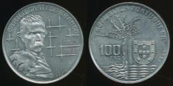 World Coins - Portugal, Republic, 1990 100 Escudos (Camilo Castelo Branco) - Choice Uncirculated