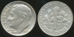 World Coins - United States, 1978 Dime, Roosevelt - Choice Uncirculated