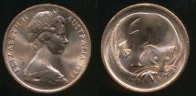 World Coins - Australia, 1973 One Cent, 1c, Elizabeth II - Uncirculated