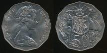 World Coins - Australia, 1978 Fifty Cents, 50c, Elizabeth II - Uncirculated