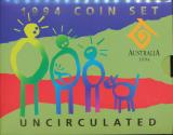 World Coins - Australia, 1994 Uncirculated Mint set of 6 coins